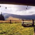 Gorce: a view to Turbacz mountain