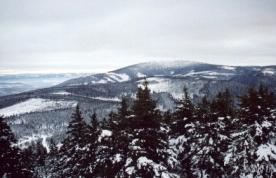 View from Czarna Góra