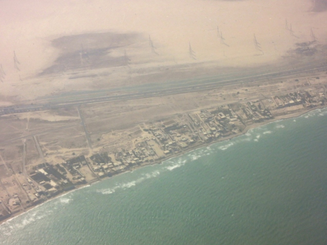 From above: Kuwait
