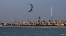 At Nessnass Beach, Dubai, UAE