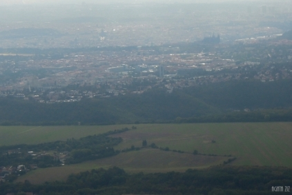 Czechia from above: around Prague