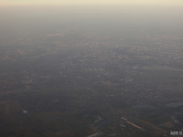 Warsaw, Poland from above