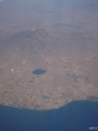 Mount Süphan and Van Lake