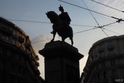 Monumento a Vittorio Emanuele II at Piazza Giovanni Bovio