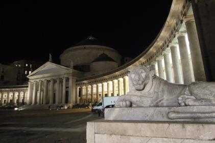 Basilica San Francesco da Paola at Piazza del Plebiscito