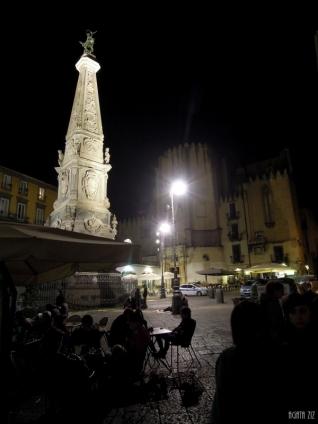 Obelisco Di San Domenico Maggiore and San Domenico Maggiore church