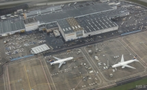 Frankfurt Airport from above