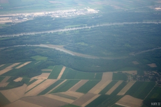 Dutch fields from above