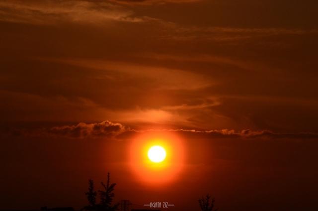 Sunset in Małopolska