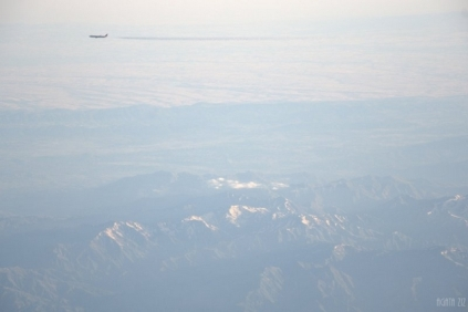 Planes above Iran