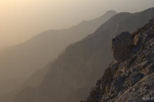 Sunset at Jebel Jais
