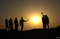 Sunset at Jebel Jais - – Ras al Khaimah, UAE