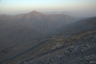 Sunset at Jebel Jais - – Ras al Khaimah, UAE