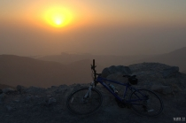 Sunset at Jebel Jais: view to Shaam and Arabian Gulf – Ras al Khaimah, UAE