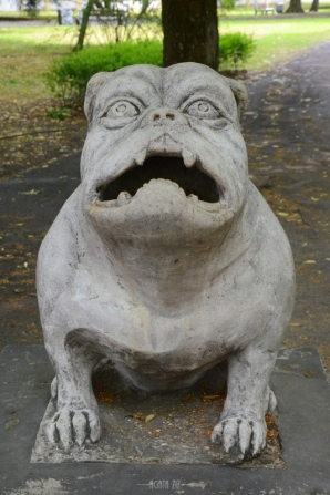Kawelin Dog - Branicki Palace and Garden, Białystok, Poland