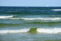 Jastarnia beach - Baltic Sea side