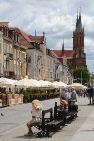 Kościuszko Square and Cathedral - Białystok, Poland