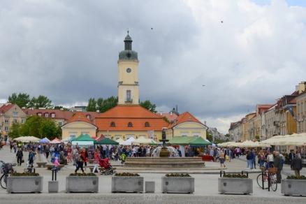 Kościuszko Square and Town Hall - Białystok, Poland