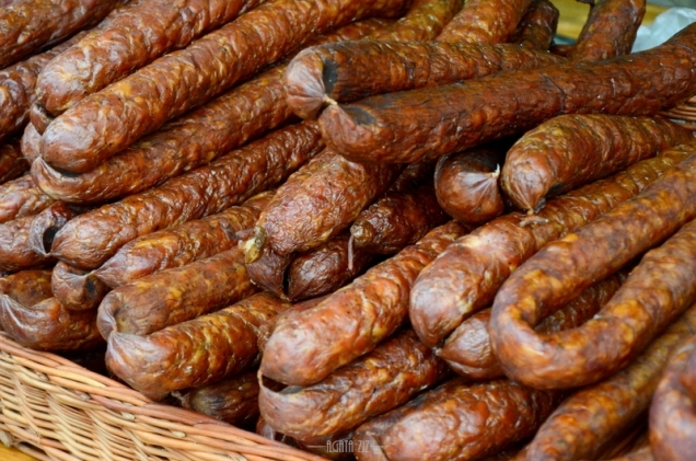 Traditional sausages