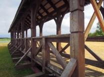 Supraśl, Poland - wooden bridge
