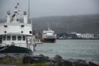 Akureyri and fjord Eyjafjörður