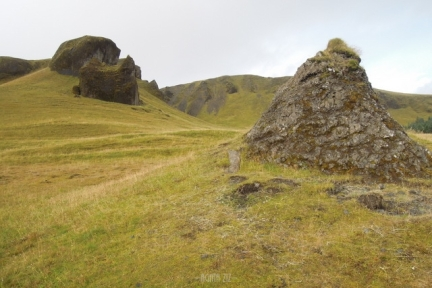 Kirkjugólf - Hildir's Grave Mound