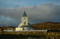 Mývatn: church in Reykjahlíð