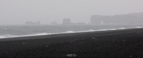 Dyrhólaey from Reynisfjara beach