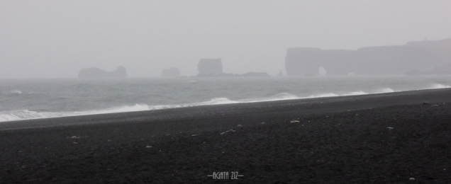Dyrhólaey from Reynisfjara beach