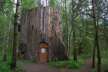 At the Herbal Corner / Ziołowy Zakątek - log cottage