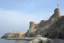 Al Mirani Fort - on the left