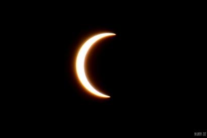 Partial solar eclipse - Dubai, UAE