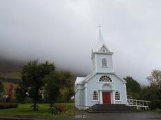 Seyðisfjörður (Seydisfjordur): Blue Church