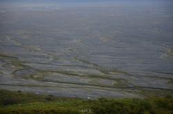 Skaftafell: view to Skeiðarársandur outwash plain
