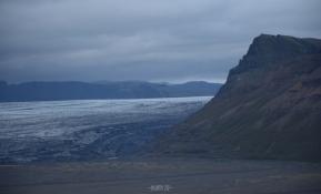 Skaftafell: view to Skeiðarájökull glacier