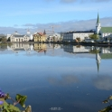 Reykjavík: Tjörnin lake, Fríkirkjan church and The National Gallery of Iceland