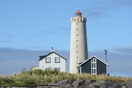 Seltjarnarnes: Grótta island and lighthouse