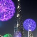 Burj Khalifa and Dandelions, Dubai
