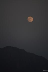 Full Moon at Jebel Jais, RAK, UAE