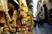 Pasta shop in Naples