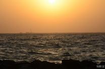 At Nessnass Beach, Dubai, UAE