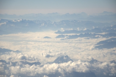 Alps from above