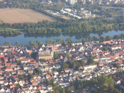 Germany from above - Frankfurt and around