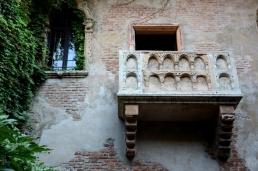 In Juliet's house – Verona, Italy