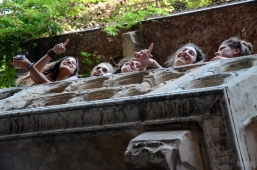 In Juliet's house – Verona, Italy