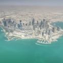 Doha, Qatar - from above