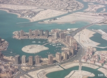 Doha, Qatar - from above