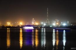 Dubai skyline from Festival Bay - Dubai, UAE