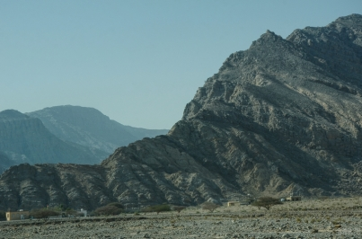 On the way to Jebel Jais - Ras al Khaimah, UAE