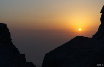 At Jebel Jais - Ras al Khaimah, UAE